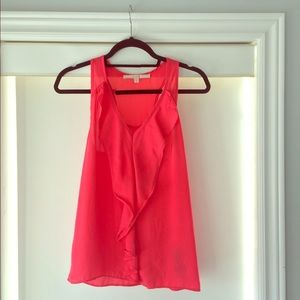 Coral Coloured GUESS Tank